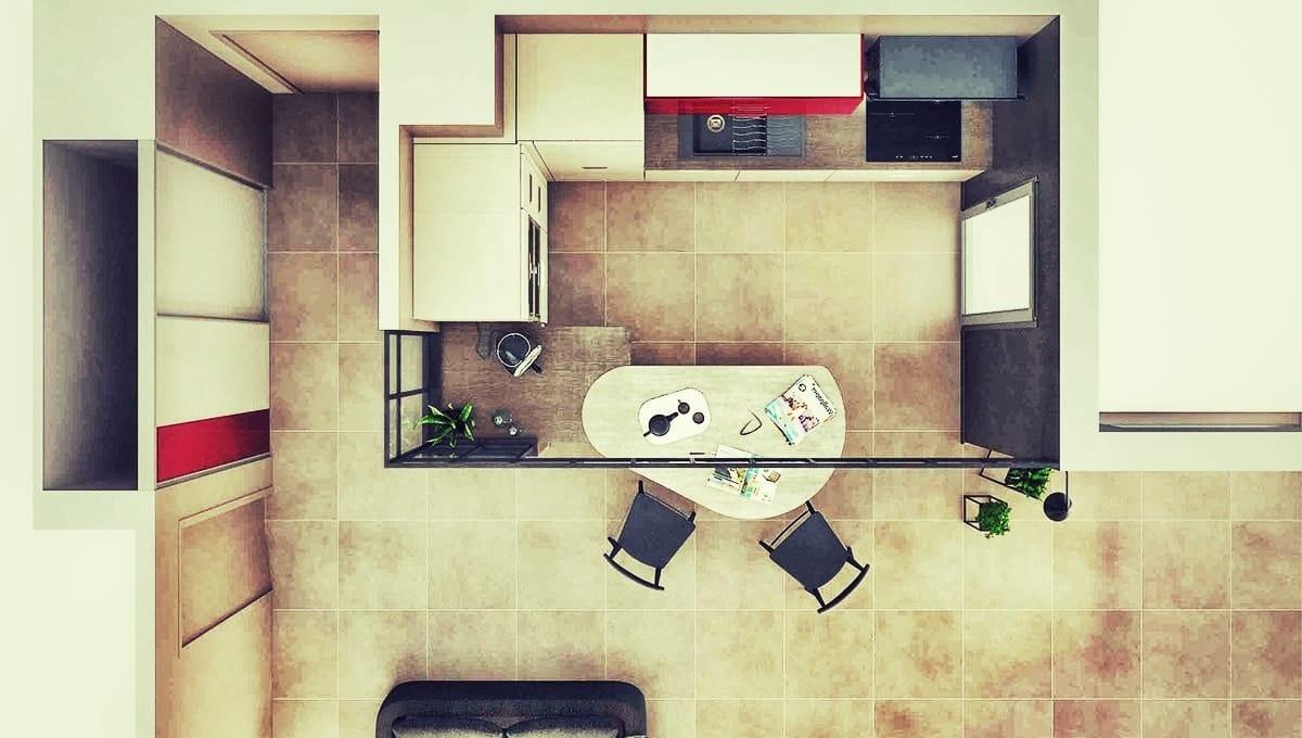 Aménager une petite cuisine de 2m² : astuces et conseils