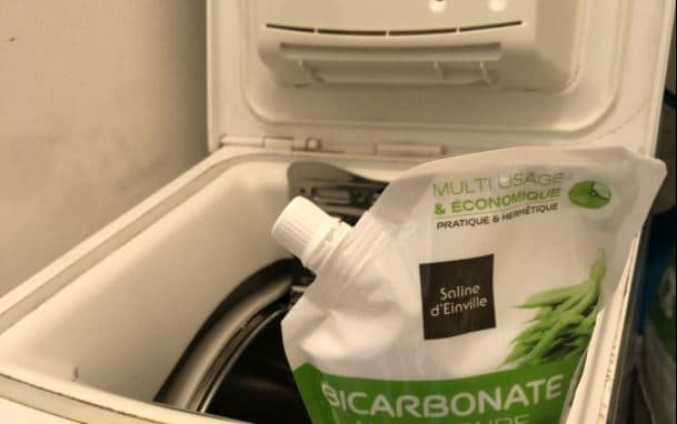 bicarbonate de soude machine à laver