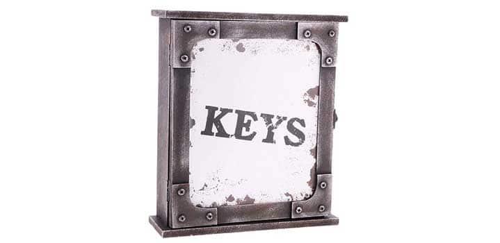 boite à clés vintage
