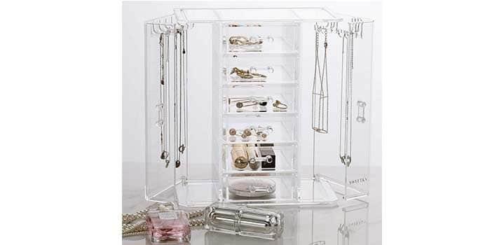 boite à bijoux présentoir