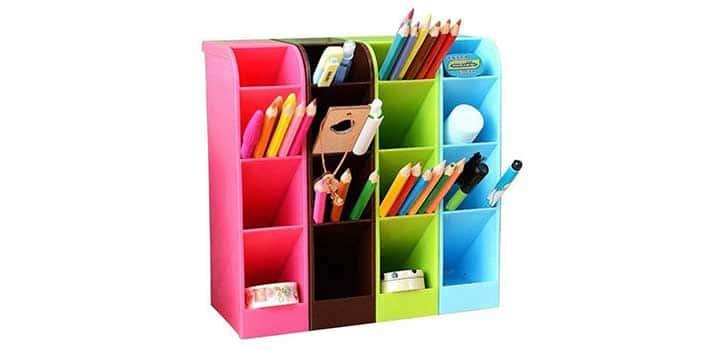 boite de rangement pour crayons