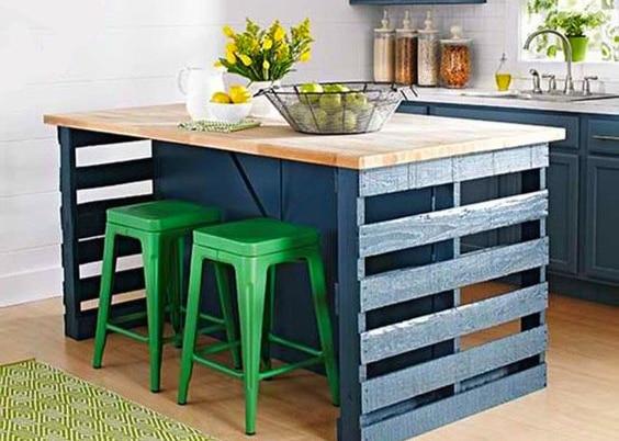 am nager une petite cuisine de 2m astuces et conseils. Black Bedroom Furniture Sets. Home Design Ideas