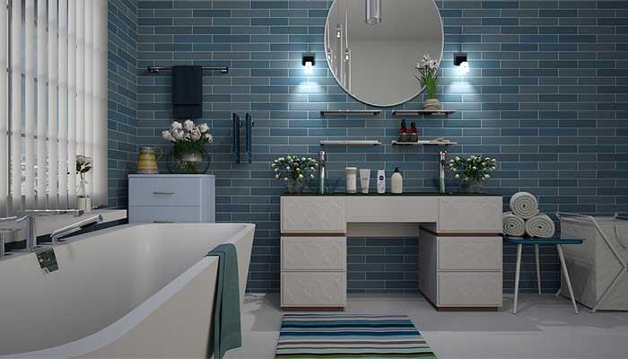 Panier à linge design : l\'accessoire déco de la salle de bain