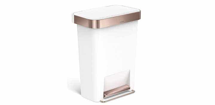 poubelle rectangulaire design