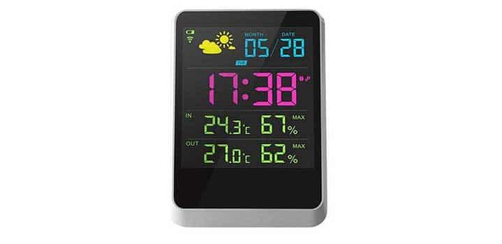 thermomètre baromètre design