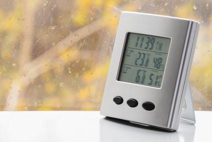 thermomètre intérieur design