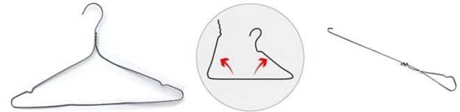 transformer cintre furet pour déboucher canalisation