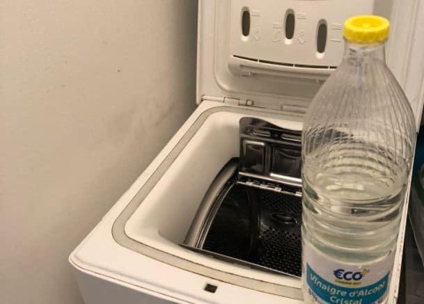 vinaigre blanc pour nettoyer lave linge