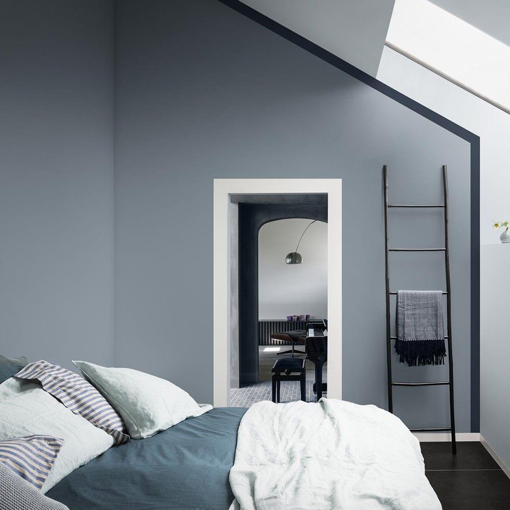 Papier Peint Chambre Mansardée peinture : quelle couleur idéale pour la chambre à coucher ?