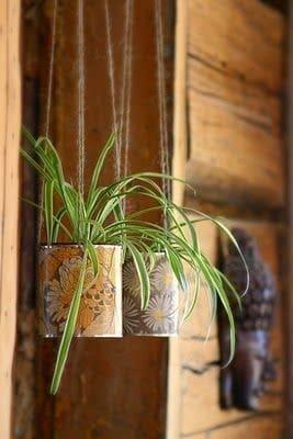 Boite de conserve pour pot de fleur diy