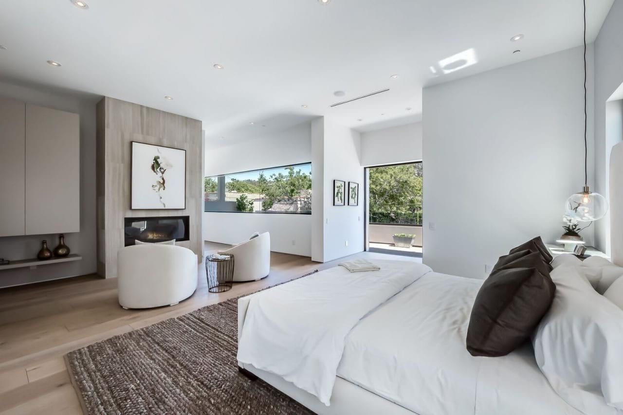 Chambre Design Couleur Blanche