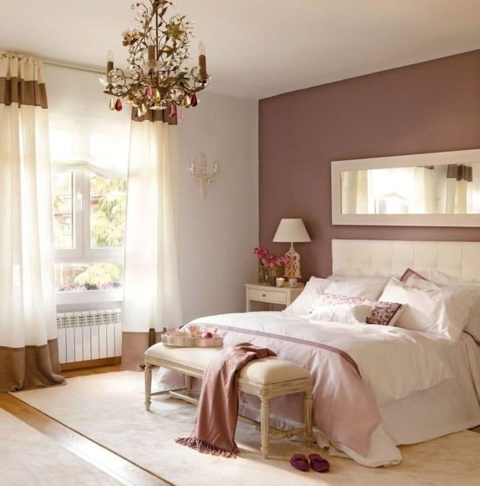 Chambre rose creme pale pour chambre parentale