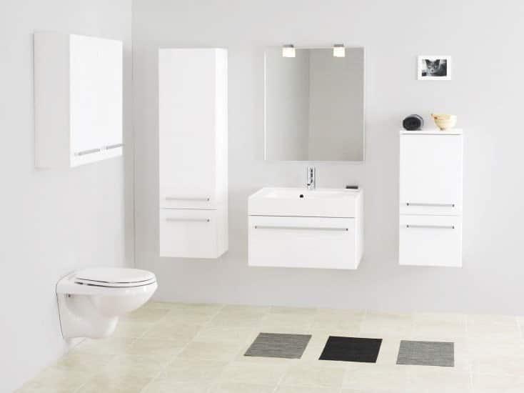 Colonne suspendue meuble salle de bain