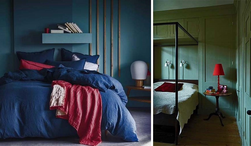 Peinture : Quelle couleur idéale pour la chambre à coucher ?