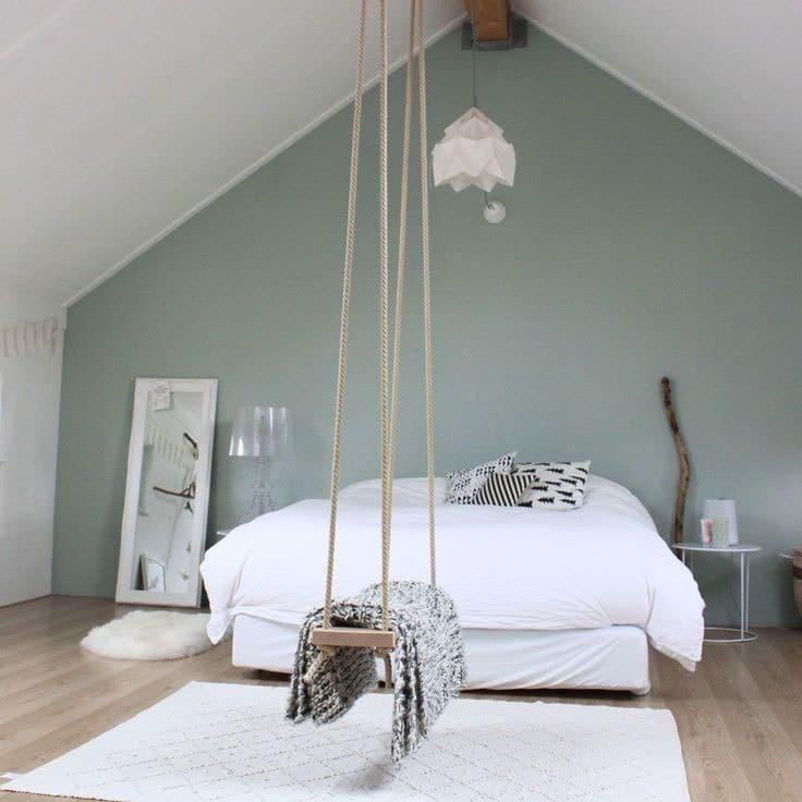 Deco chambre blanc et gris