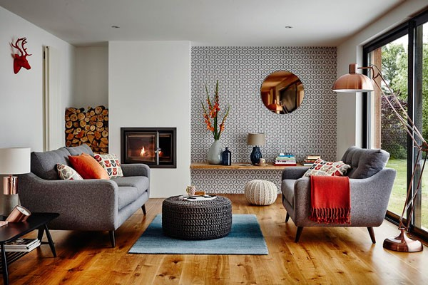Agreable Idees Deco Salon Cocooning