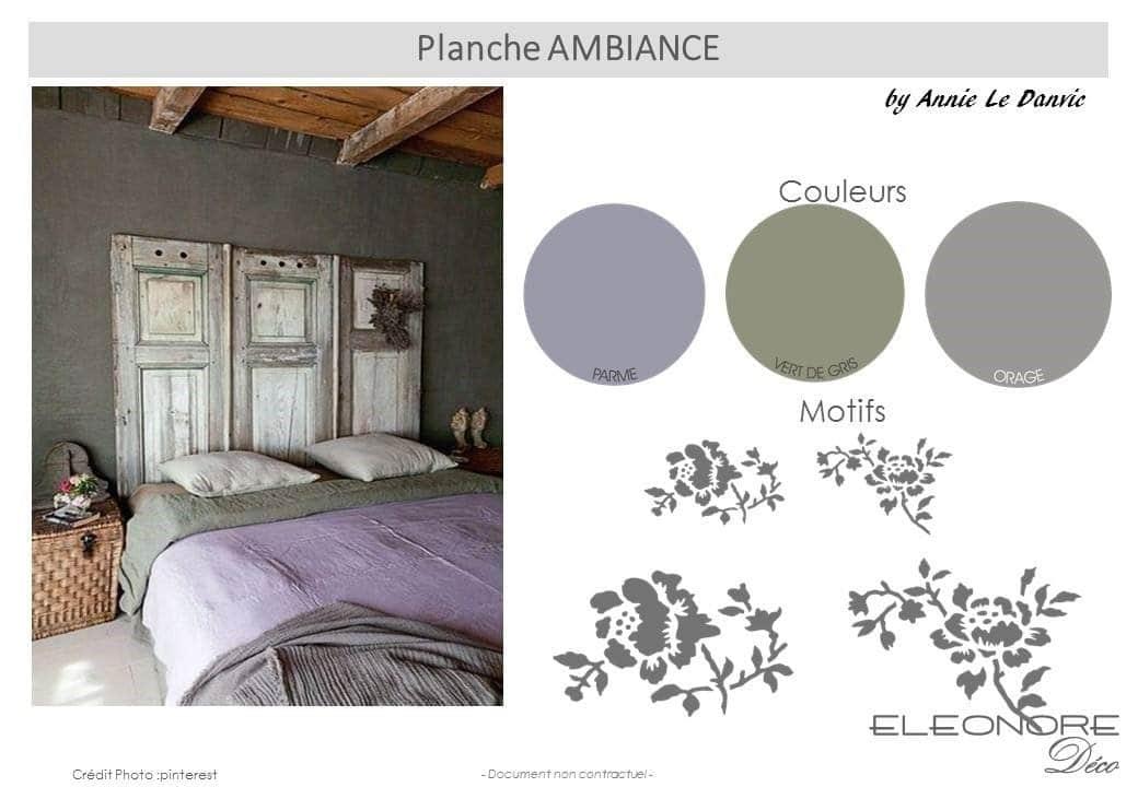 Charmant Palette De Couleur Apaisante Pour Chambre