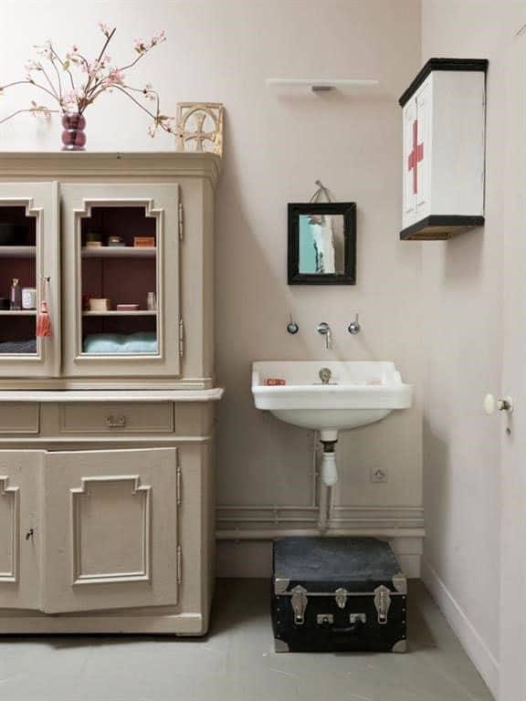 Salle de bain vintage DIY