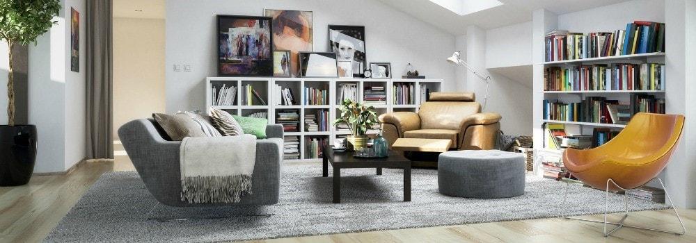 Salon moderne cocon