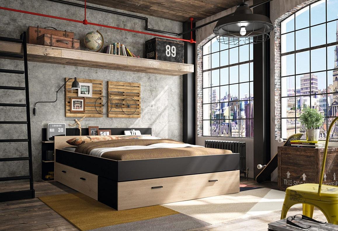 aménager petite chambre moderne