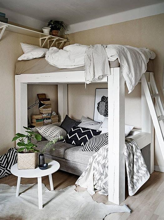 Comment aménager une petite chambre ? Idées et Astuces !