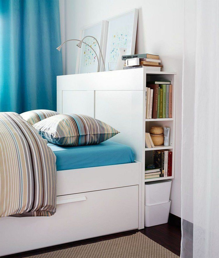 comment am nager une petite chambre id es et astuces. Black Bedroom Furniture Sets. Home Design Ideas
