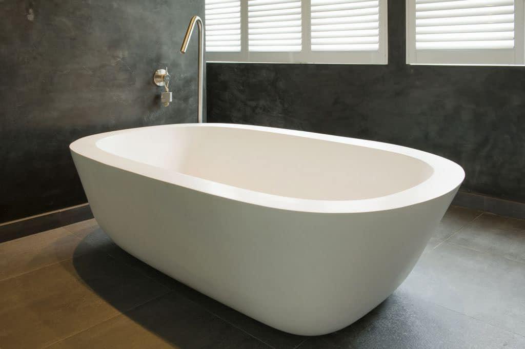 baignoire chaleureuse