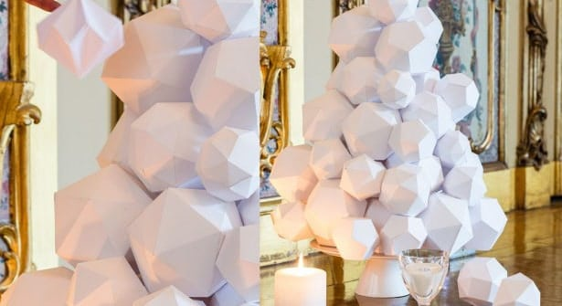 boule de noel origami