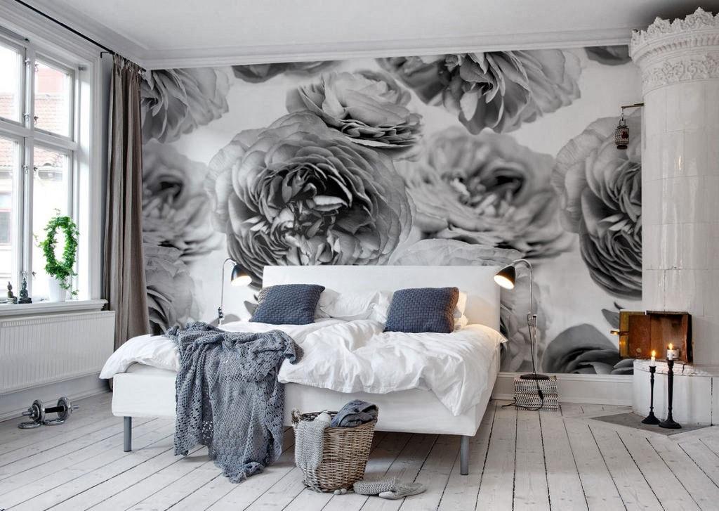 Chambre Gris Et Blanc