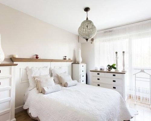 chambre style romantique vintage