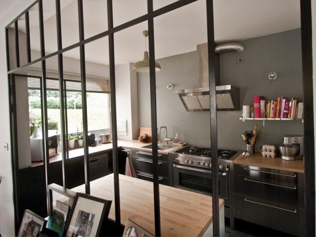Cloison Cuisine Salon