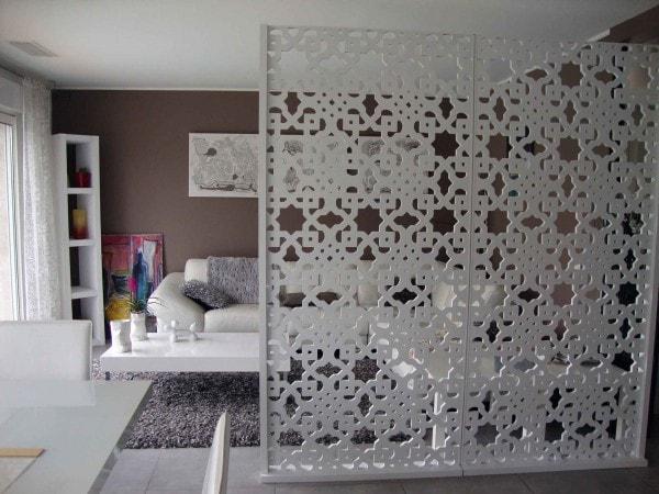 s paration cuisine salon 40 id es pour cloisonner et d limiter l 39 espace. Black Bedroom Furniture Sets. Home Design Ideas
