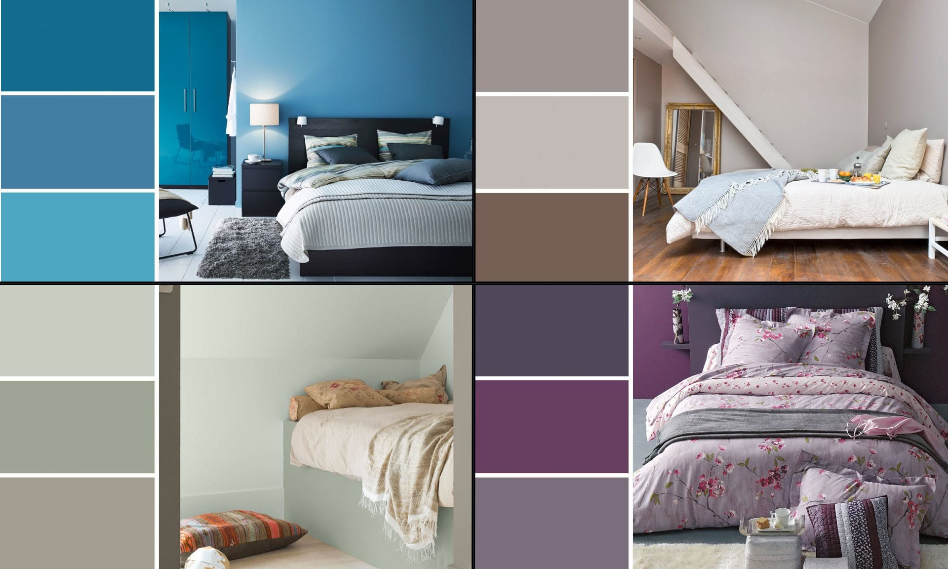 Grand Couleur Ideale Chambre Adulte