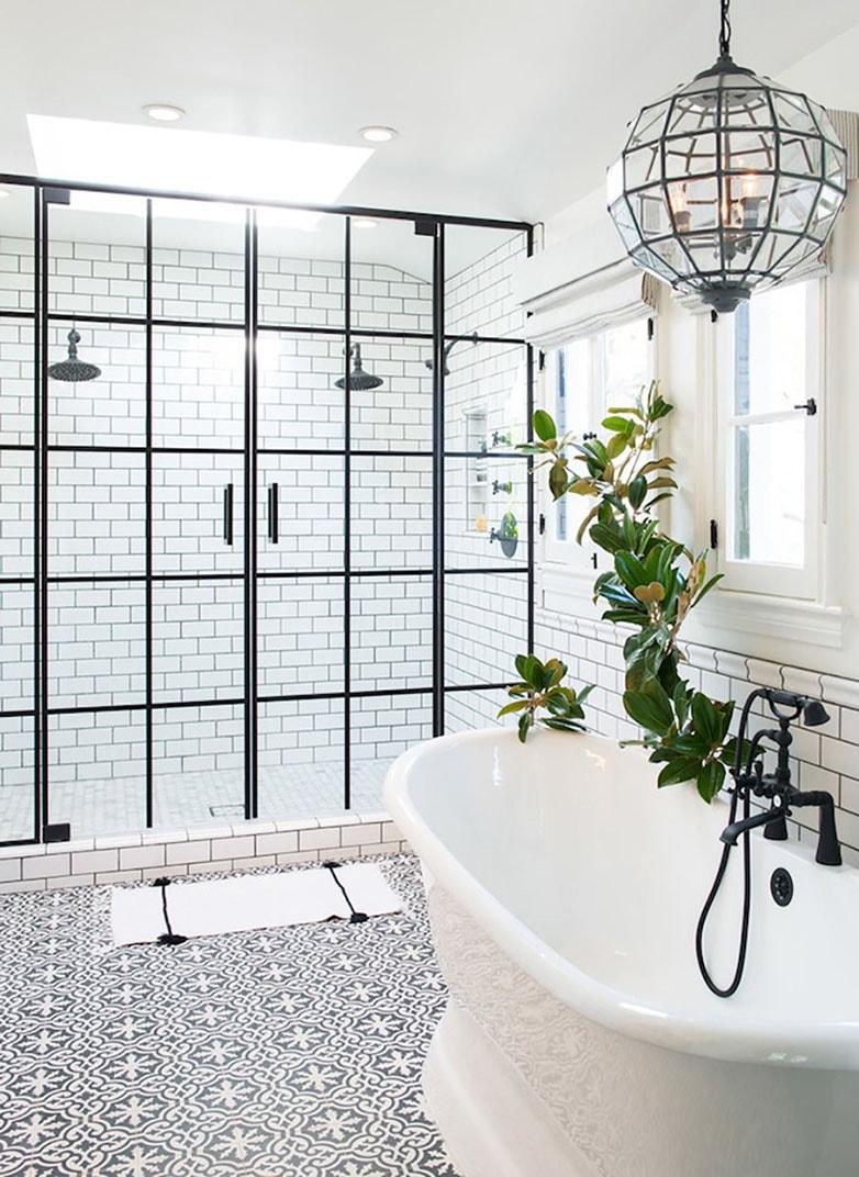 couleur tendance salle de bain