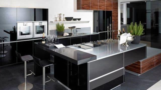 cuisine et salon design