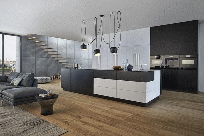 cuisine intégrée dans salon