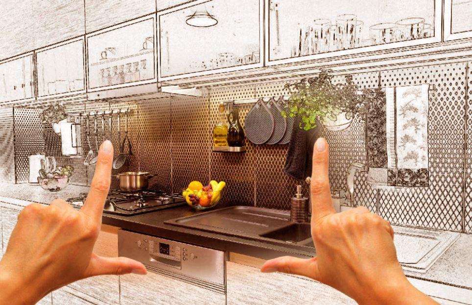 cuisine ouverte sur salon aménagement