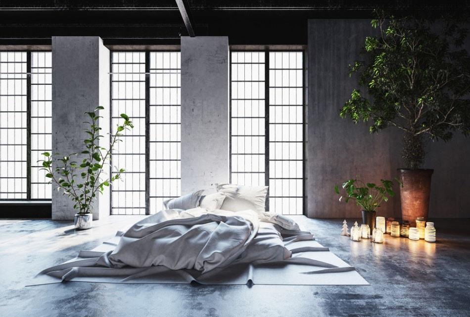 déco chambre romantique zen