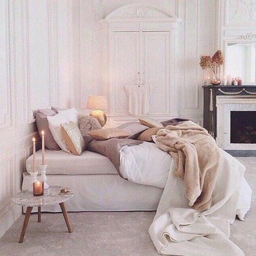 déco tons pastels pour chambre romantique