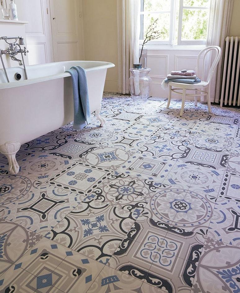 decorer salle de bain vinyle