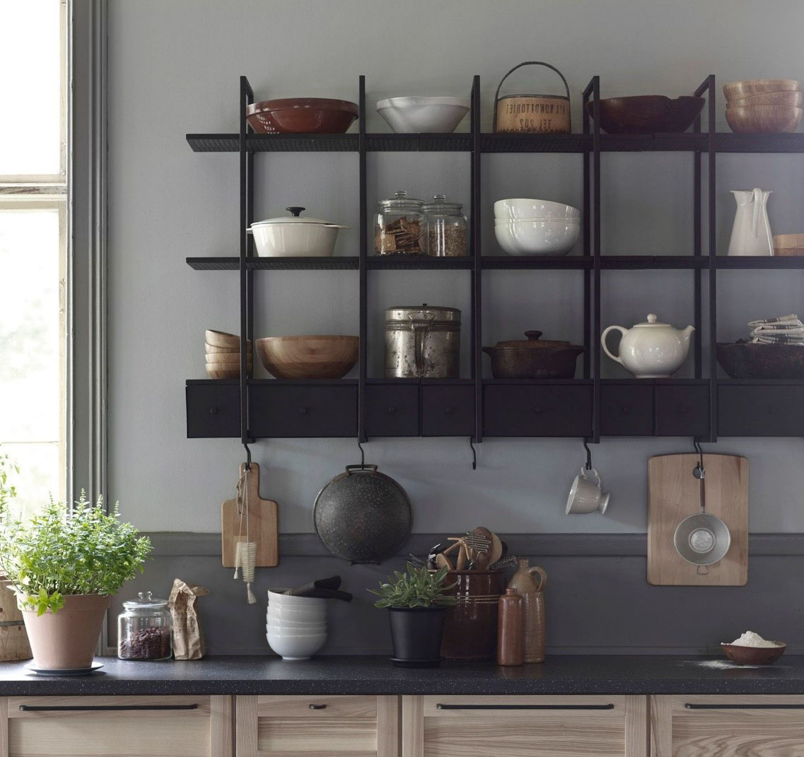 etagere rangement cuisine ikea