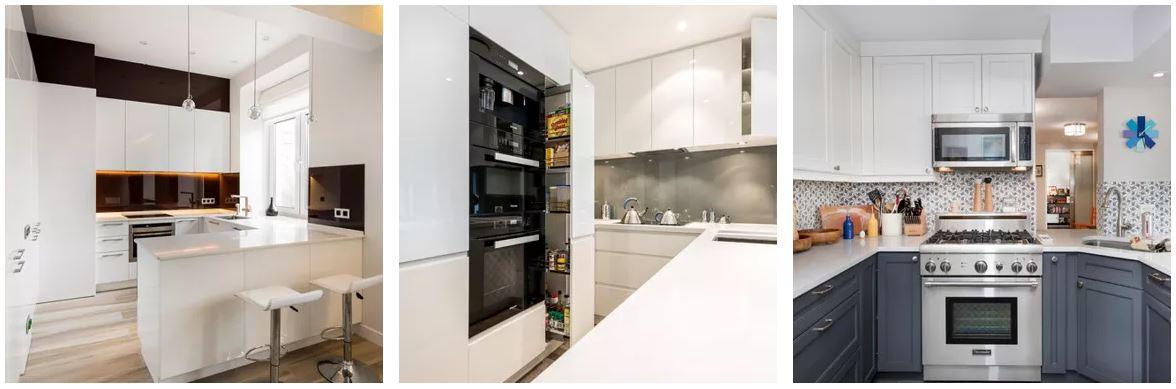 exemples en photos de petites cuisines modernes