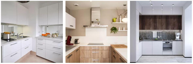 exemples de petites cuisines modernes