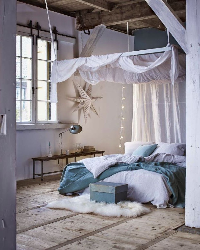 idée chambre adulte cabane romantique