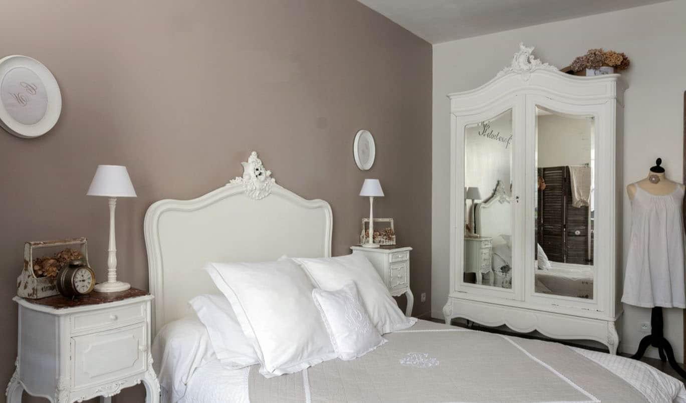 idée deco chambre romantique baroque