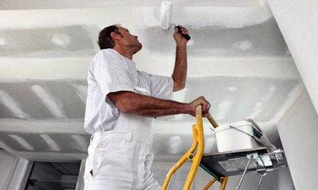 Comment peindre un plafond comme un pro ?