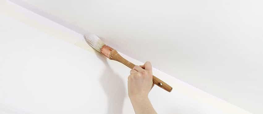 peindre plafond rechampir