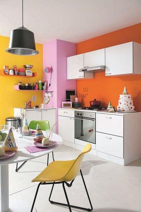 Peinture cuisine : Quelles sont les couleurs tendance en 2018 ?