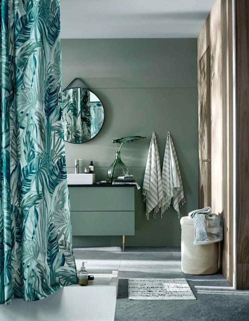 peinture tendance salle de bain