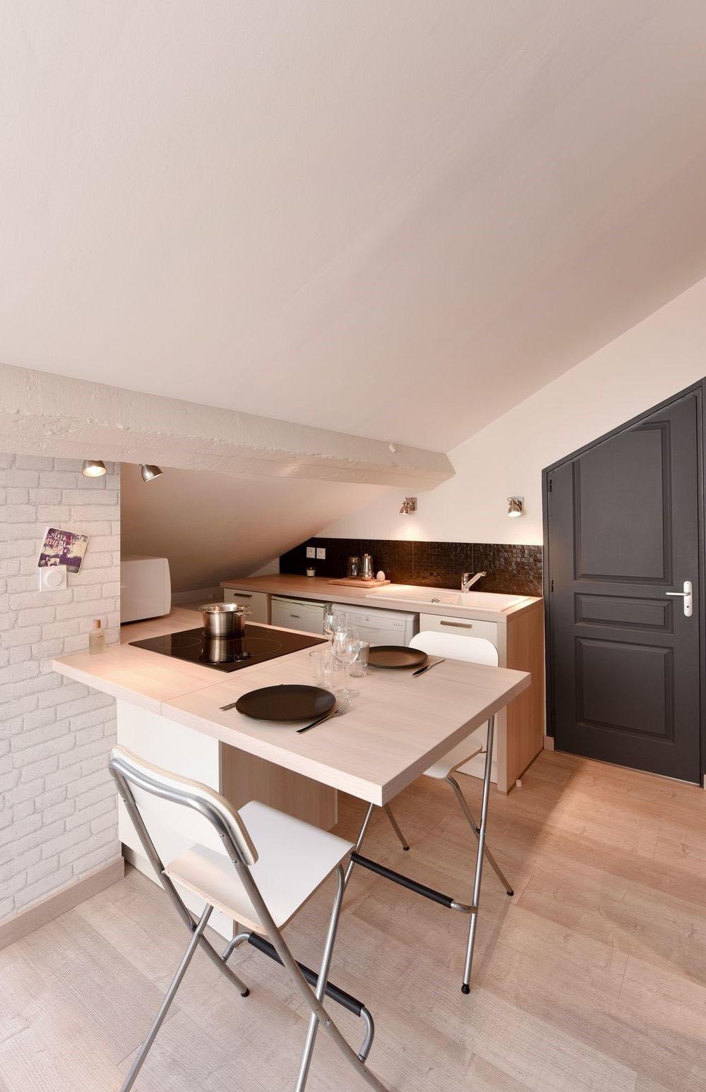Amenager Petite Cuisine Avec Bar petite cuisine moderne : photos, idées et conseils pour